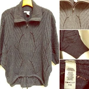 DKNY Jeans Half-Zip Style Sweater